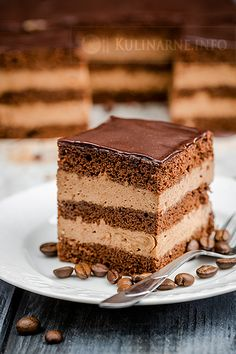 Cake nature fast and easy - Clean Eating Snacks Sweet Recipes, Cake Recipes, Dessert Recipes, First Communion Cakes, Different Cakes, Polish Recipes, Mocca, Food Cakes, Savoury Cake