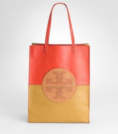 Two-toned tote from Tory
