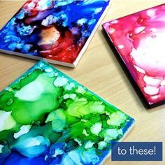 I absolutely must do this!! Sharpies + Alcohol + Ceramic Tiles = DIY Coasters