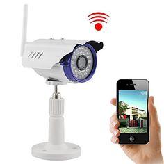 IP Camera UOKOO 720P 1.0 MegaPixel P2P Plug & Play Wifi Infrared Bullet Waterproof Onvif Security HD Wireless