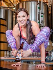Yoga + Beer offers fun, social events in Oregon and Washington.