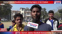 District Jammu Handball Championship begins at MA Stadium