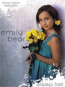 Always True songbook | Emily Bear
