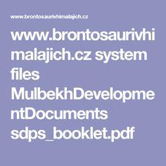 www.brontosaurivhimalajich.cz system files MulbekhDevelopmentDocuments sdps_booklet.pdf