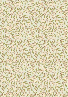 Chieveley - Garland Swirl On Cream Lewis & Irene Patchwork Quilting Fabric Textile Patterns, Textile Design, Fabric Design, Textiles, Quilting Thread, Patchwork Quilting, Quilting Fabric, Etsy Fabric, Dressmaking Fabric