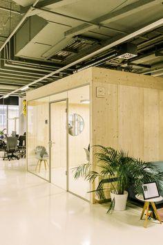 Konzentrierter arbeiten - in den Büroboxen aus Holz Arch, Divider, Furniture, Home Decor, Life, Timber Wood, Homes, Homemade Home Decor, Bow