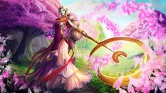 soraka. league of legends support character :)