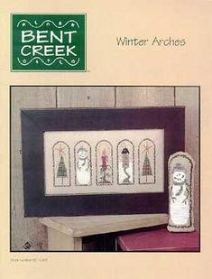 bent creek cross stitch | Bent Creek Winter Arches Cross Stitch Pattern | eBay