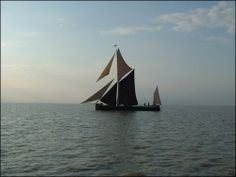 Barge Near The Isle Of Sheppey
