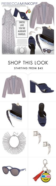 """""""Be the First to Style Rebecca Minkoff's Spring 2016 Collection!"""" by piedraandjesus ❤ liked on Polyvore featuring Rebecca Minkoff, women's clothing, women, female, woman, misses, juniors, contestentry, seebuywear and rmspring"""