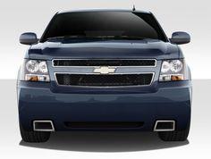 2007-2014 Chevrolet Tahoe Suburban Avalanche Duraflex SS Look Front Bumper Cover - 1 Piece