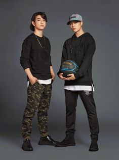 GOT7 & TWICE showcase athletic street looks for 'NBA Style' | Koogle TV
