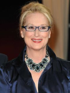 "Mary Louise ""Meryl"" Streep is an American actress and philanthropist. Cited in the media a. Meryl Streep, New Jersey, Intelligent Women, Portraits, Iconic Women, Fashion Over 50, Best Actress, Famous Faces, Face Shapes"