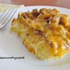 Sausage Hashbrown Breakfast Casserole