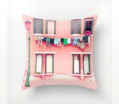 Photo+pillow+cover+decorative+pillow+case+Venice+door+magnesina,+$27.00