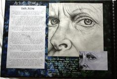 This is my art work that I have created over the past few years, some bits are from my GCSE Art and some from A Level Fine Art. A Level Art Sketchbook, Sketchbook Layout, Sketchbook Ideas, Kunstjournal Inspiration, Sketchbook Inspiration, Artist Research Page, Art Alevel, Art Folder, Identity Art