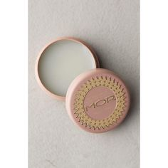 MOR Lip Macaron Tin ($10) ❤ liked on Polyvore featuring beauty products and peach nectar