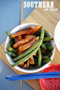 Sticky Peanut Stirfry | 25 Meat-Free Clean Eating Recipes That Are Actually Delicious
