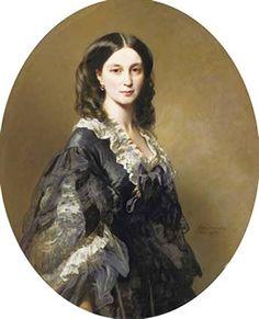 Елена Бибикова княгиня Барятинская   1858