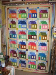 house quilt pattern - Google Search