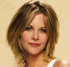 best timeless Meg Ryan hair style