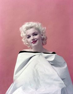 Marilyn Monroe photographed by Milton Greene in 1955