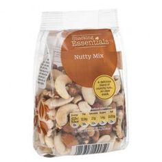 A mix of blanched peanuts, cahew nuts, almonds, brazil nuts, hazelnuts, and walnuts. ...