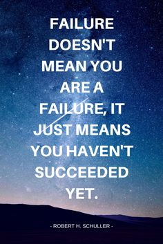 If you keep getting back up, then you're never a failure! Always remember to keep that in mind! www.EmpowerMediaLLC.net