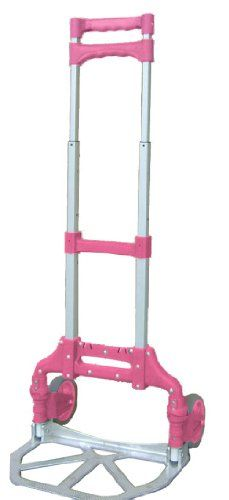 Magna Cart MCX-PINK 150-Pound Capacity Personal Handtruck, Pink Magna Cart