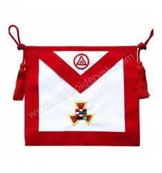 Royal Arch Past High Priest PHP Hand Embroidered Masonic Apron Masonic Symbols, High Priest, Aprons, Past, Arch, History, Past Tense, Historia, Apron