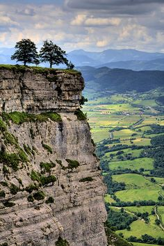 Délika, Basque Country - Spain (looks like a fun cliff to climb lol)