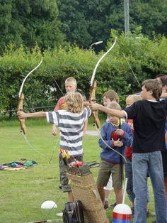 Boogschieten op Camping Starnbosch