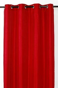 LJ Home   Silkana 2 Piece Window Panel Set In Red By LJ Home. $50.99