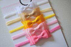 Kit com 5 headbands - laço M