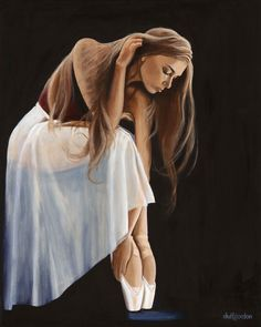 A #ballet painting of mine. Hope you all like it. Find more at http://duffgordon.gallery