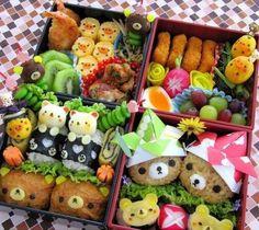 Les kyaraben sont des trésors d'imagination et de créativité ! Et ils ont l'air kawaii et délicieux !