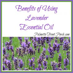 The Benefits of Using Lavender Essential Oil