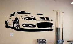 BMW M3 Racing Rally GT Wall Art Sticker Decal v6