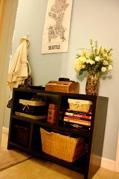 entryway organization... via Apartmenttherapy Jenicra84