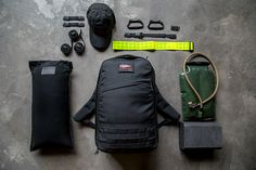 If you plan on rucking it outdoors, you might as well ruck it in proper fashion with GoRuck's GR1 Rucking Kit. The kit is built around the popular GR1 Rucksack and comes equipped with the bag itself, a 30 pound filler bag, a sternum strap, an ITW Nexus Web dominator for securing loose gear and straps...Read More