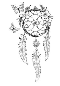 Dreamcatcher tattoo Dreamcatcher tattoo… Dreamcatcher tattoo… desenhosdetatuagens DREAMCATCHER fotosdetatuagens ideiasdetatuagens Tattoo is part of Dream catcher tattoo - Dream Catcher Coloring Pages, Dream Catcher Drawing, Dream Catcher Tattoo Design, Mandala Coloring, Colouring Pages, Adult Coloring Pages, Coloring Books, Atrapasueños Tattoo, Body Art Tattoos