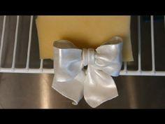 How to Make Fondant & Gum Paste Wilton Bows : Wedding Cakes