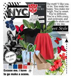 """Optimus Prime <3"" by princess-with-a-crown ❤ liked on Polyvore featuring Oris, Enkel Dika, Kate Spade, Code Le Vush, Office, NARS Cosmetics and Topshop"