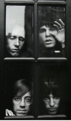The Doors - The best classic rock by Jim Morrison. Rock And Roll, Pop Rock, Trip Hop, The Doors Jim Morrison, Foto Poster, Band Photography, White Photography, Famous Photography, Musica Popular