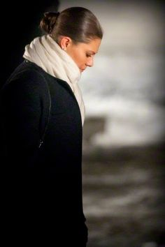 Crown Princess Victoria of Sweden place an candle at the monument in Auschwitz Birkenau at the 70th anniversary of the libration of Auschzwitz, Poland, 27.01.2015.