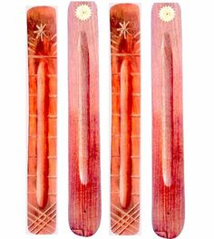 Wooden crafted Incense Sticks Holder Pack of 4 at Just Rs.300