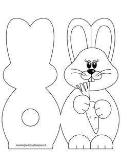 Fotografije na zidu zajednice Easter Art, Hoppy Easter, Easter Bunny, Easter Templates, Easter Printables, Easter Craft Activities, Easter Crafts For Kids, Easter Coloring Pages, Diy Ostern