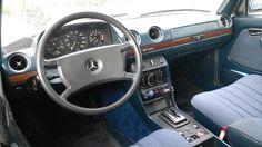 Mercedes-Benz w123 interrior