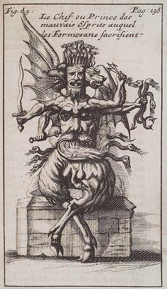 A Formosan Evil Spirit by George Salmanaazaar