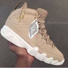 "Air Jordan 9 x Just Don ""Beach Custom"""
